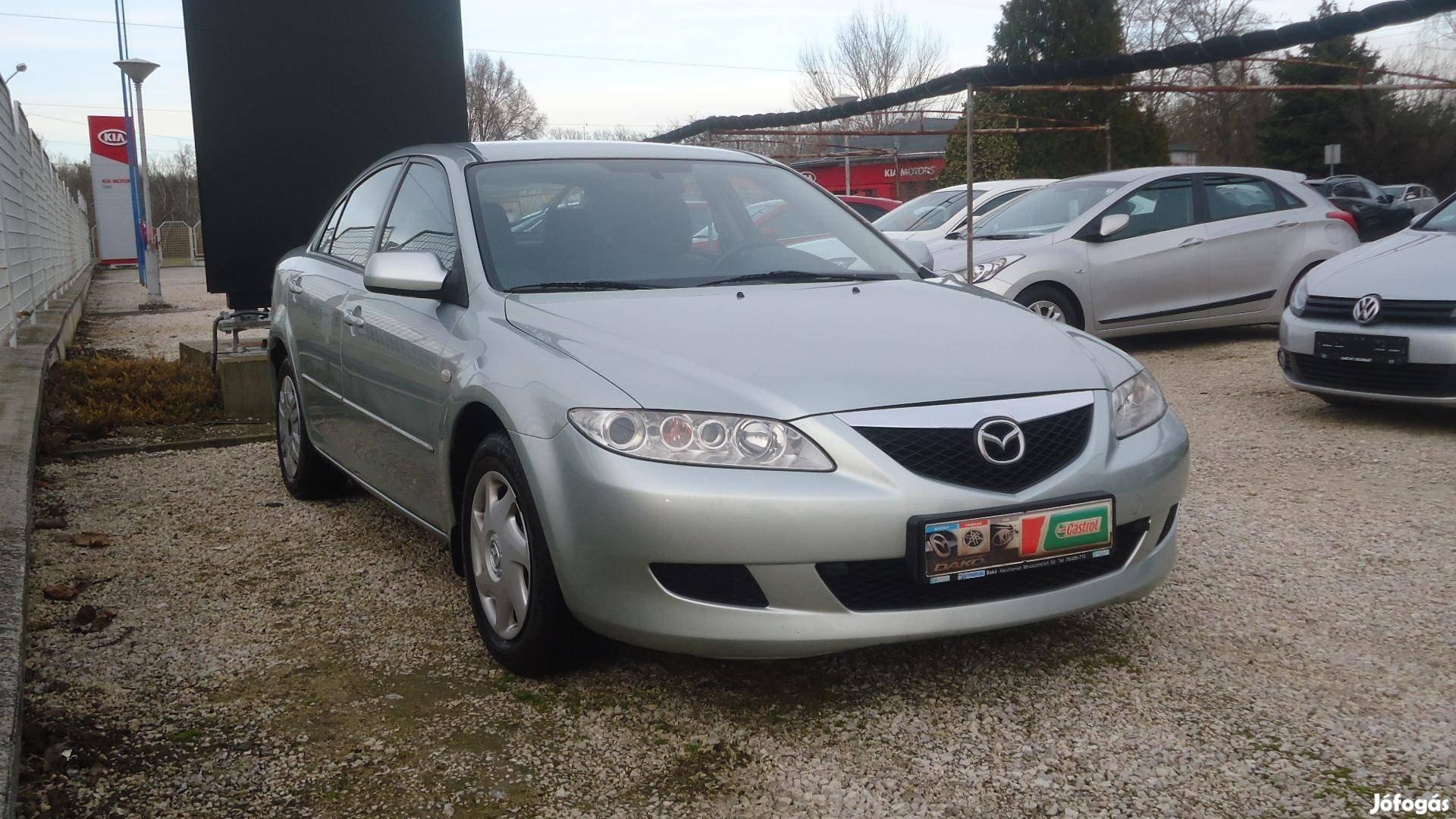 Mazda 6 Sport 2.0 Cdh TE M.O-i. 1. Tulaj. SZERV...