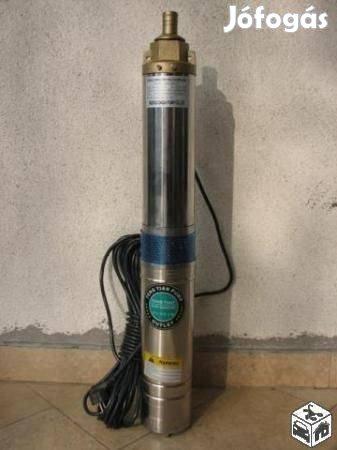 Mélykúti csőszivattyú 8 lépcsős 2kw 8000l/h 10cm széles víz szivattyú