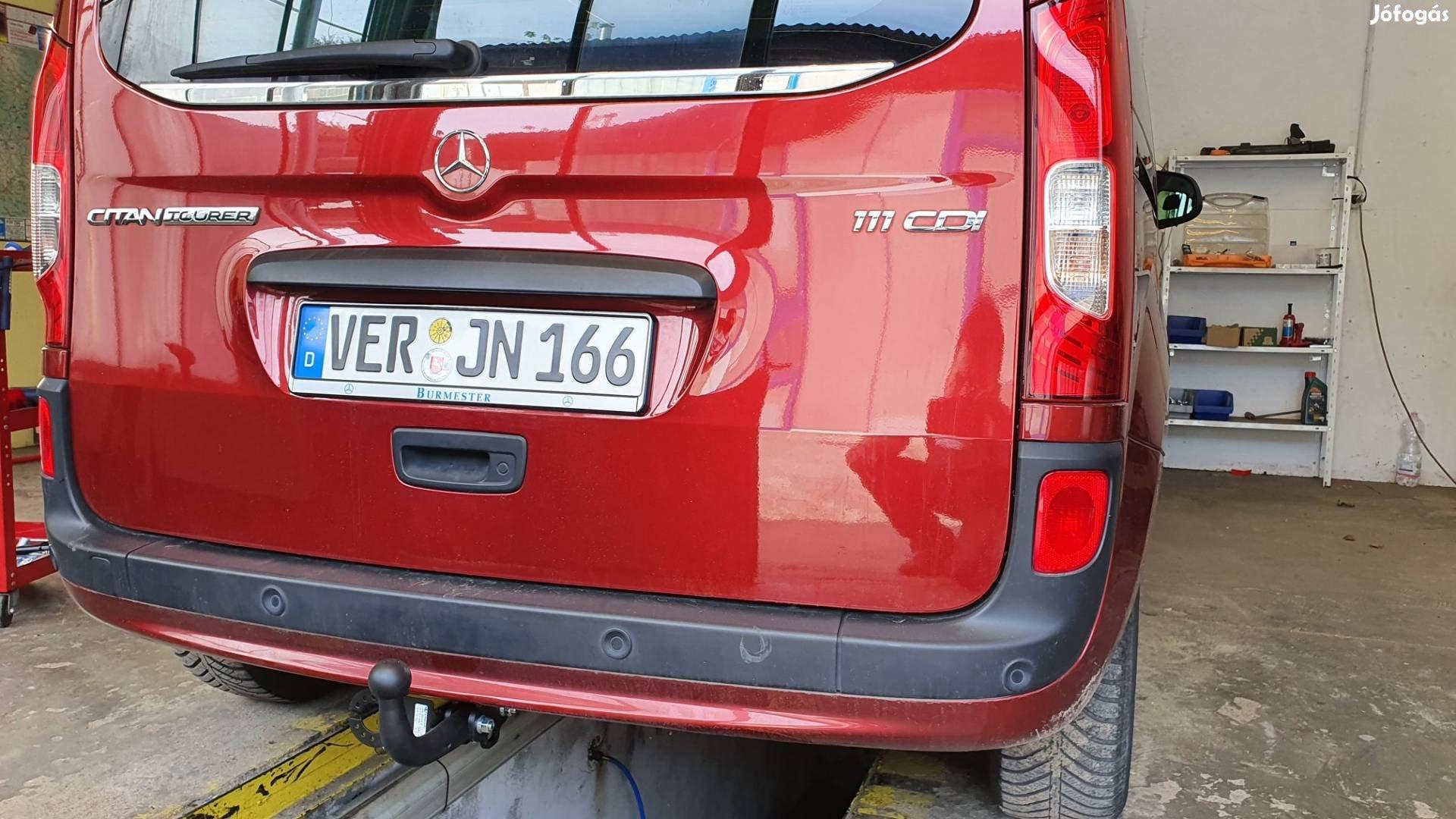 Mercedes Citan vonóhorog
