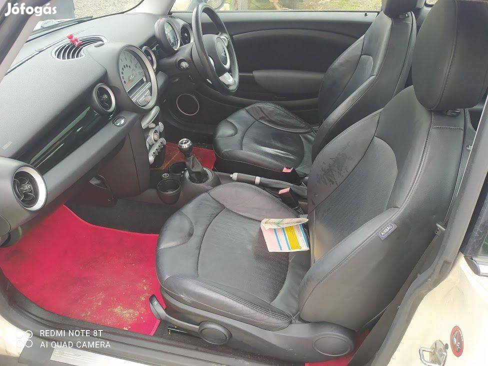 Mini Cooper R55 R56 Fekete Sport börbelsö 100e