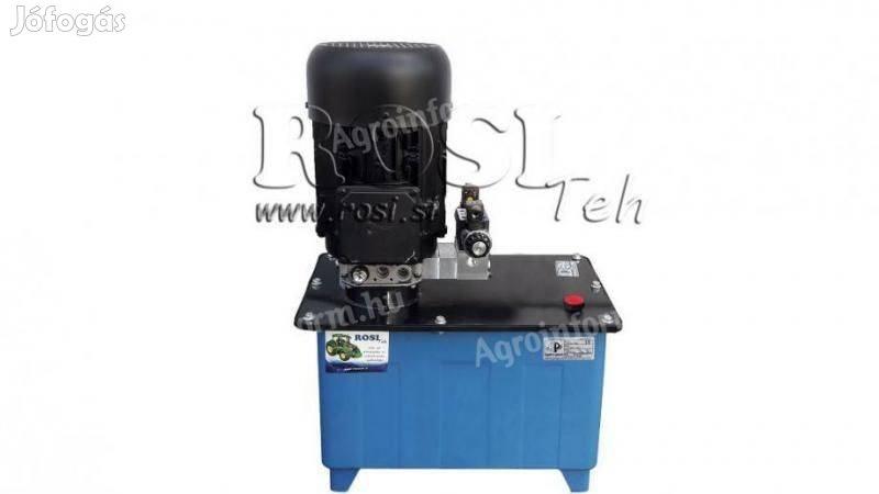 Mini Hidraulikus Egység 380V AC (4 kW) - 8 cm3 - 12 l / perc - tartály