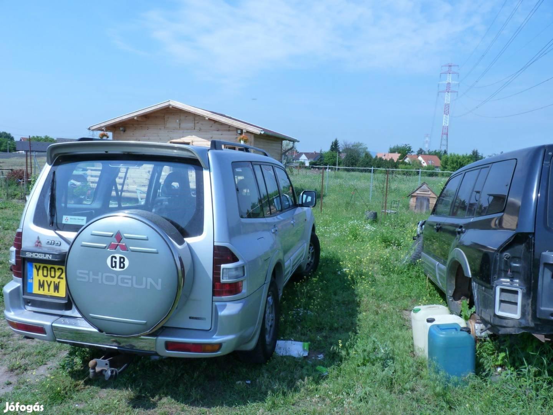 Mitsubishi Pajero motor,váltó,karosszéria elemek,fék,futómű.kárpitok, 4. Kép
