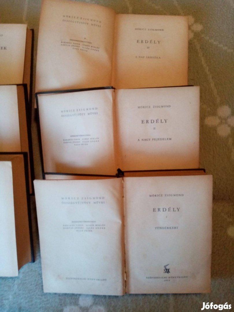 Móricz Zsigmond összegyűjtött művei 6 db