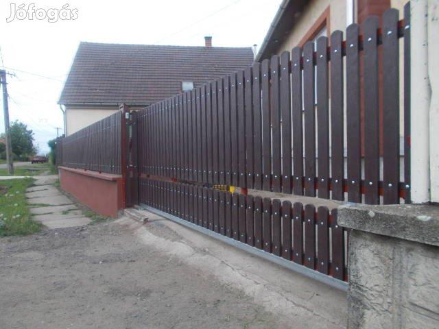 Műanyag , gondozást nem igénylő kerítés, kerítésléc!