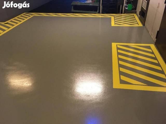 Műgyanta padló, műgyanta burkolat készítés. Youtube csatorna videók