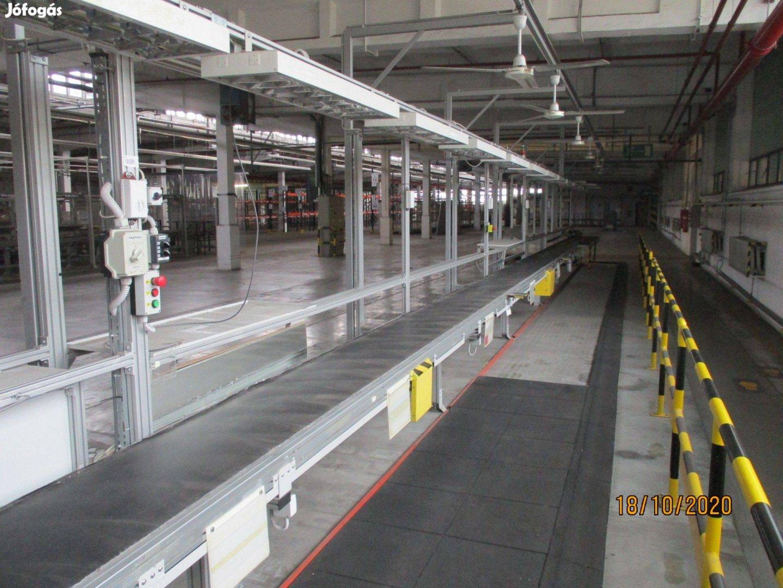Munkaállomás összeszerelő sor szállítószalag rendszer munkasor (814)