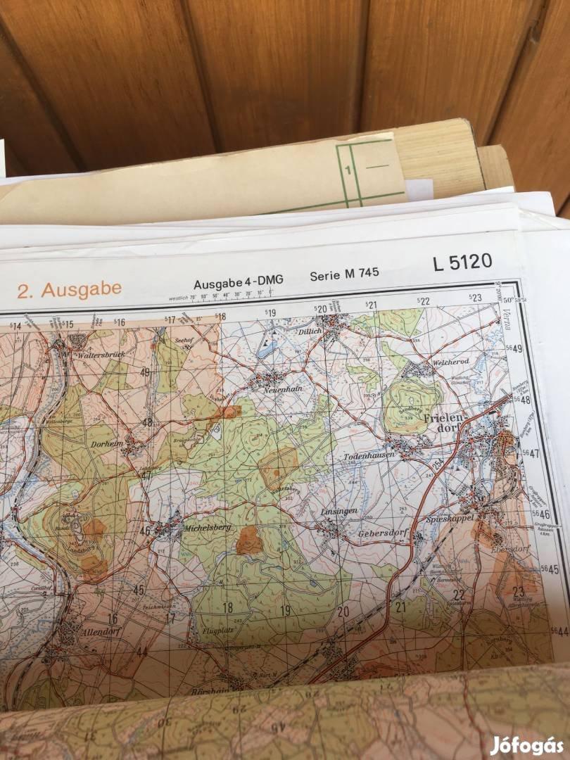 Német katonai térképek 70'