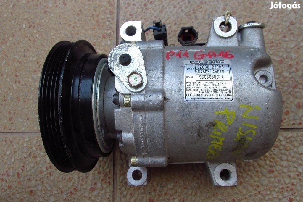 Nissan Primera P11 1.6 klímaszivattyú, 92600-2J003 számú