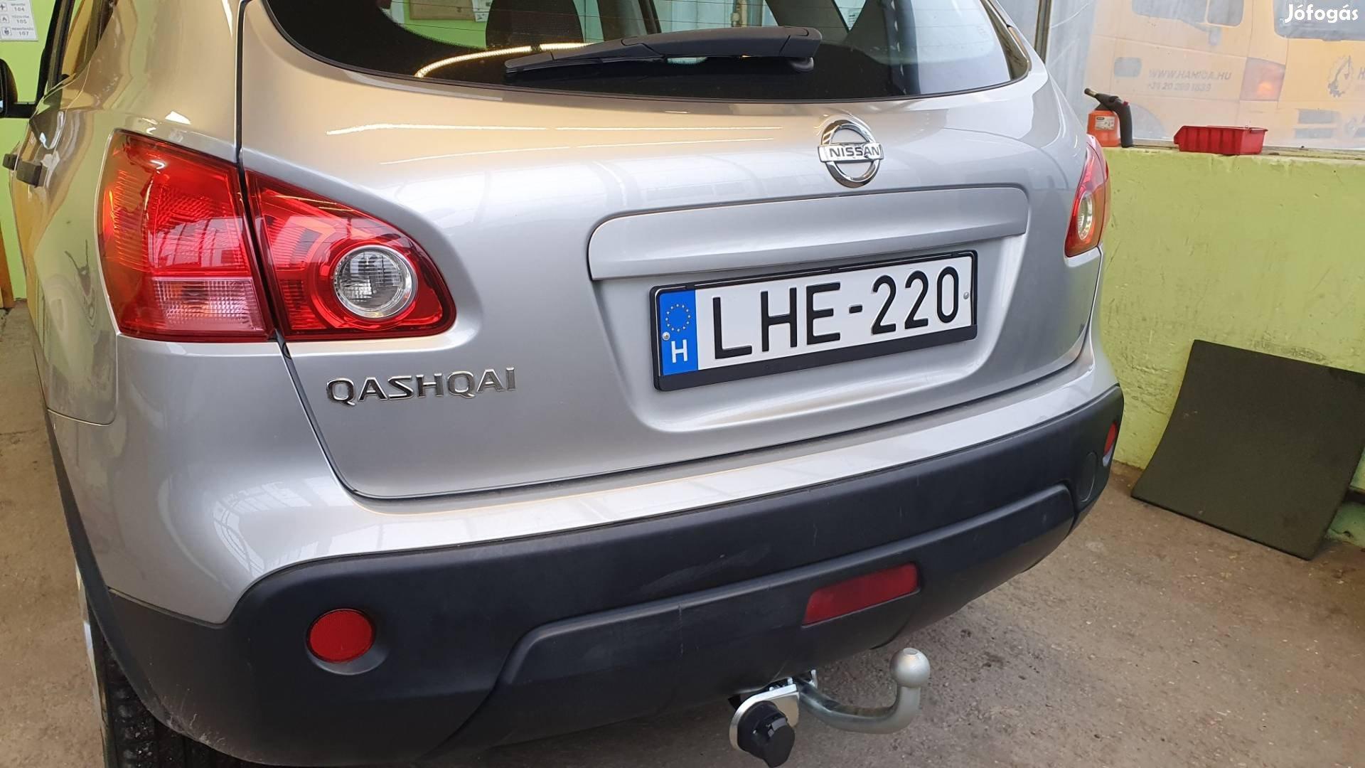 Nissan Qashqai vonóhorog