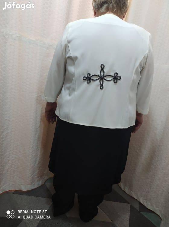 Női Molett Bocskai Zsinóros kosztüm