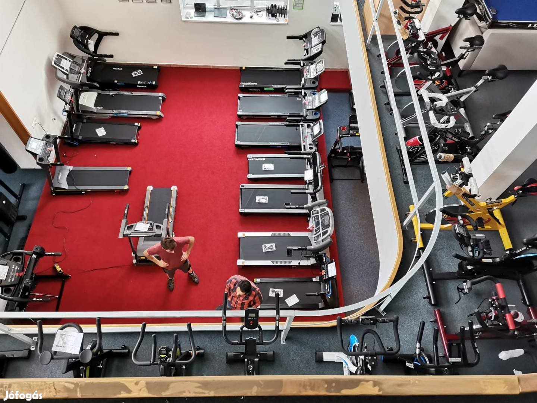 OPTI Futópad futógép www.hayranfitness.hu