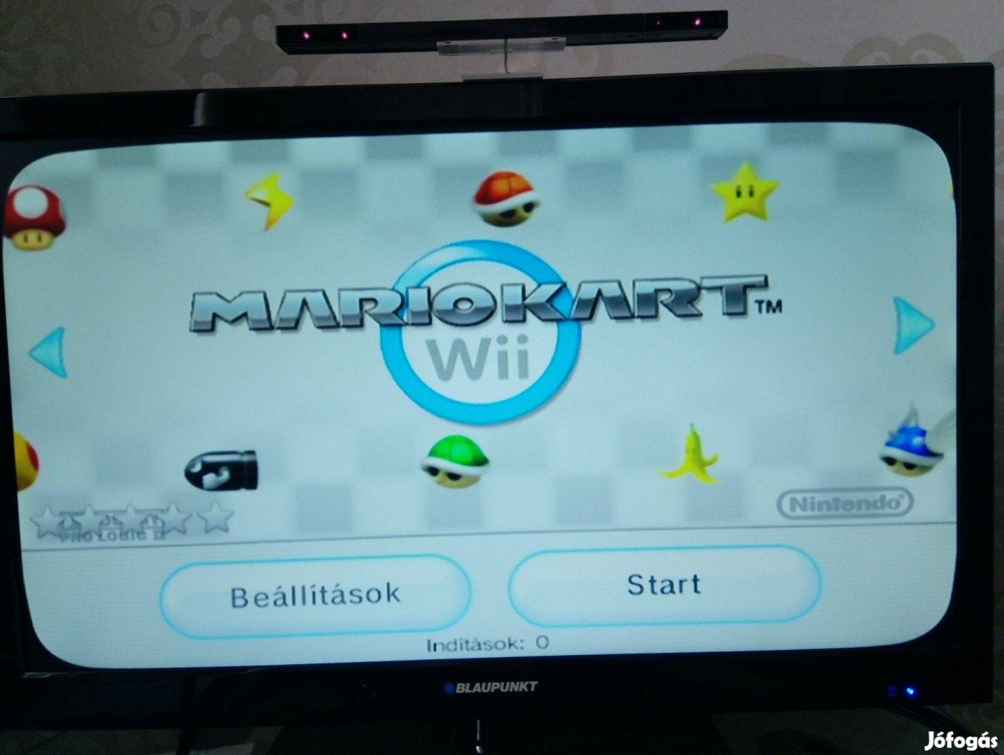 Okos Nintendo Wii softmod komplett családi pakk 108 toplistás játék!