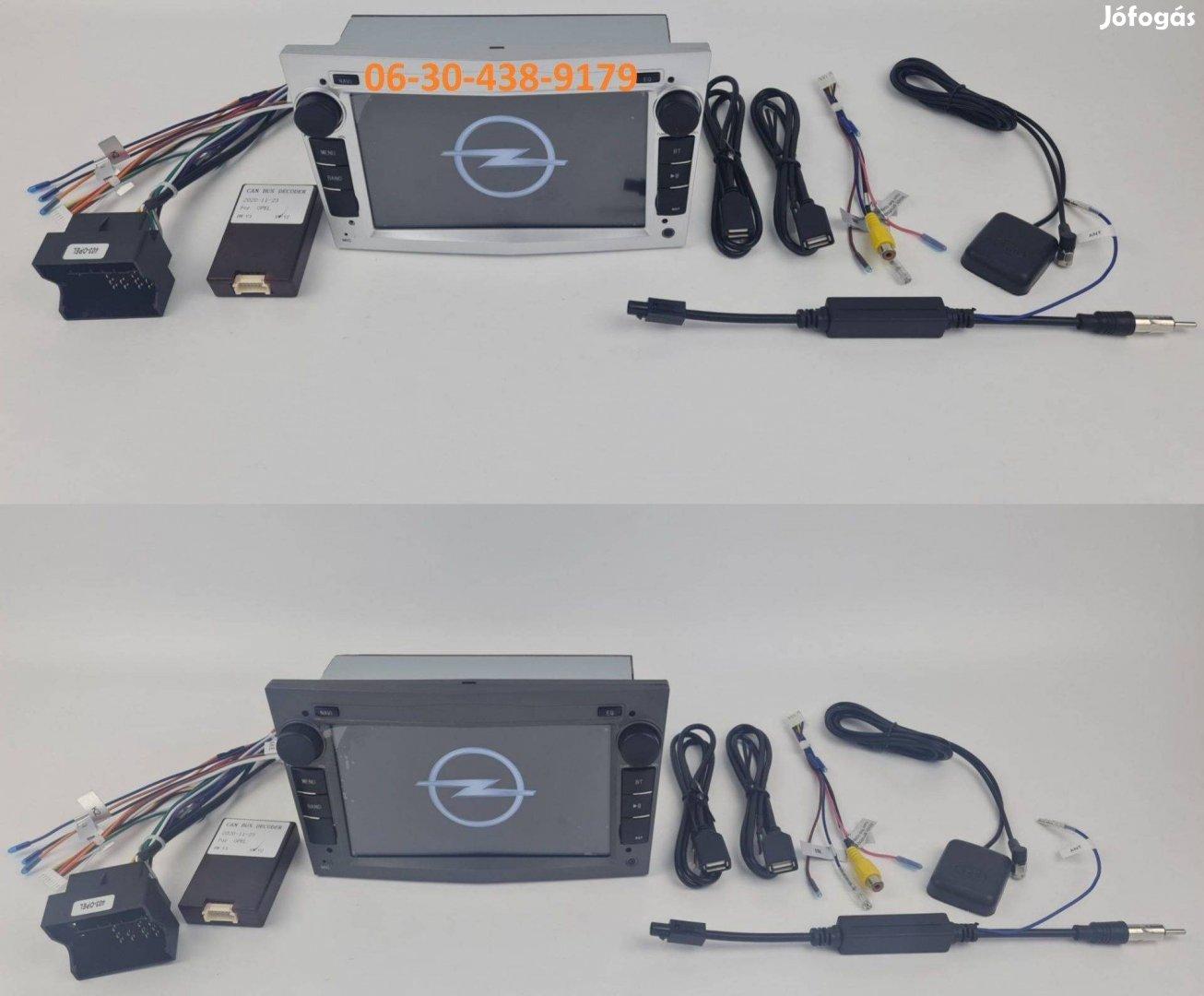 Opel Android autórádió fejegység gyári helyre 1GB rádió + Carplay