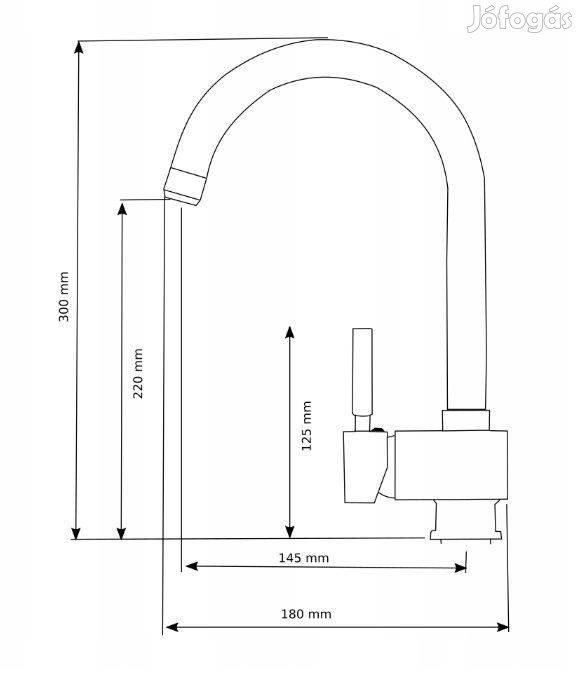 Panama P686 Gránit Mosogató -Nagy Medence - Csaptelep - Extrák