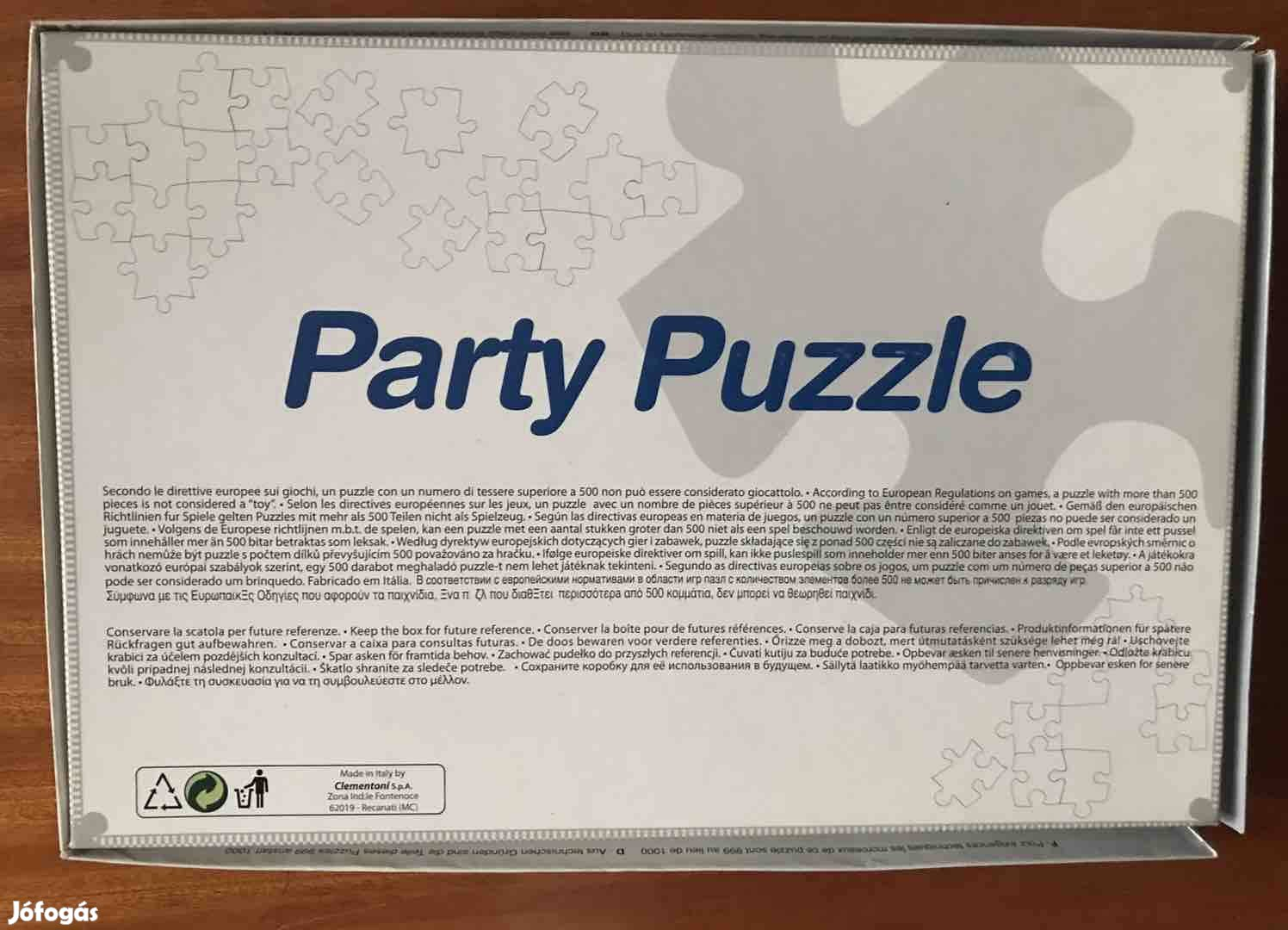 Party Puzzle 1000 db-os