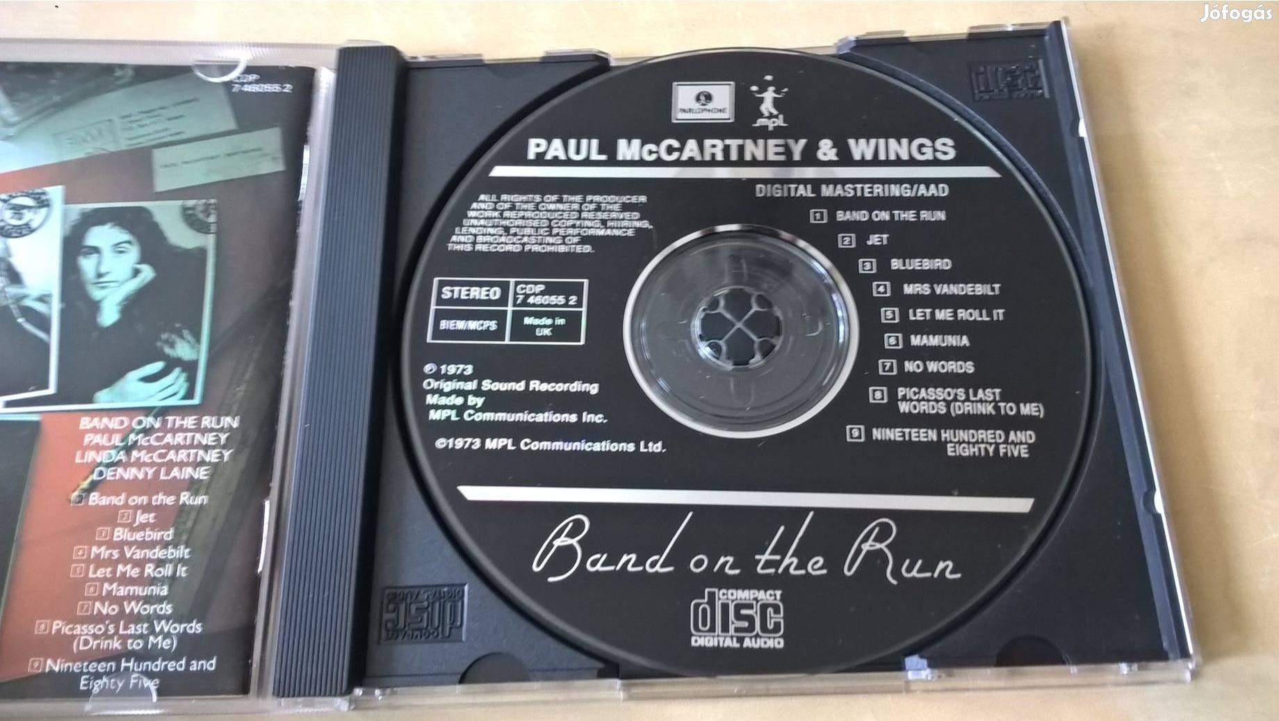 Paul Mccartney & Wings - Band On The Run CD