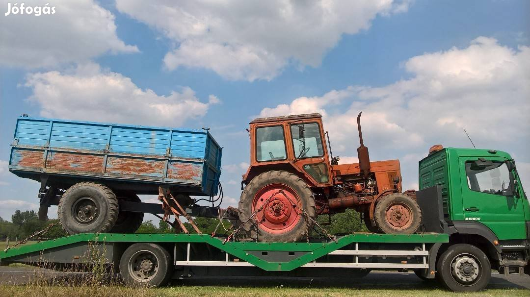 Permetező, Pótkocsi, Gép, Traktor, Bálázó, Markoló, Gépszállítás, 7. Kép