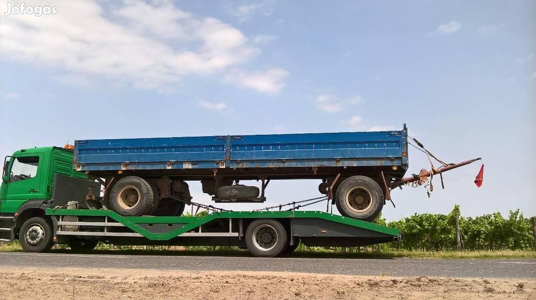 Permetező, Pótkocsi, Gép, Traktor, Bálázó, Markoló, Gépszállítás, 8. Kép