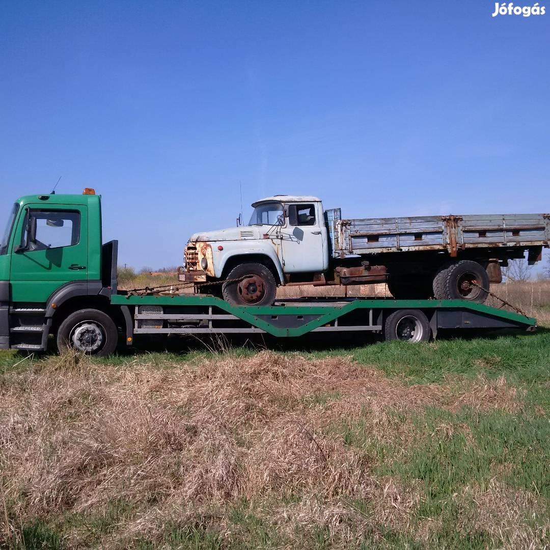 Permetező, Pótkocsi, Gép, Traktor, Bálázó, Markoló, Gépszállítás, 10. Kép