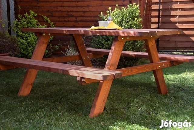 Piknik asztal,kerti bútor