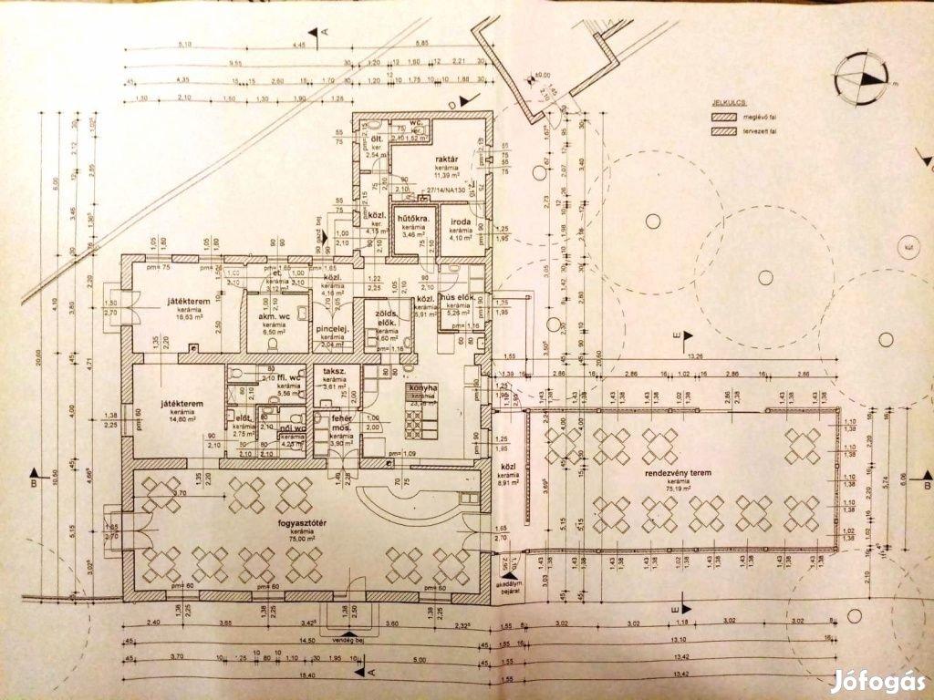 Piliscsaba, ELADÓ - BÉRBEADÓ Vendéglő Piliscsabán, 260 m2-es,