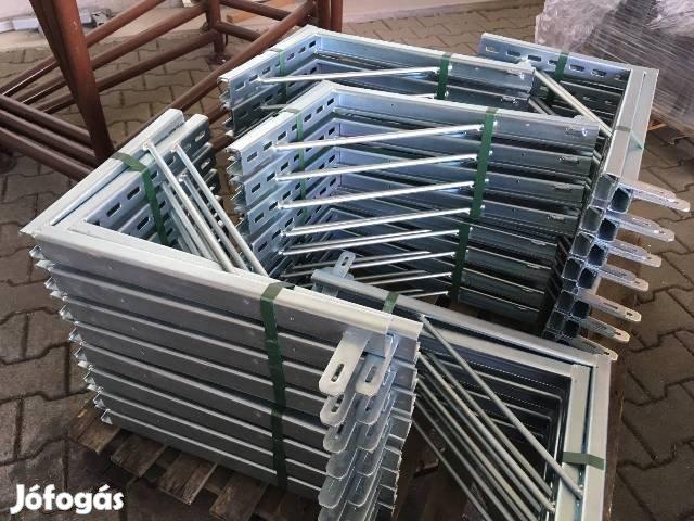 Pillérzsalu / Oszlopzsalu 15/45cm / fődémtámasz, láb, acél állvány