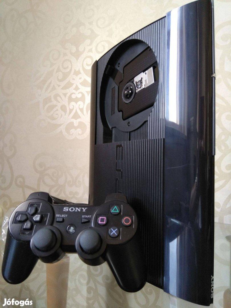 Playstation 3 (PS3)1TB! hen cfw Superslim ultrapak 52 toplistás játék!