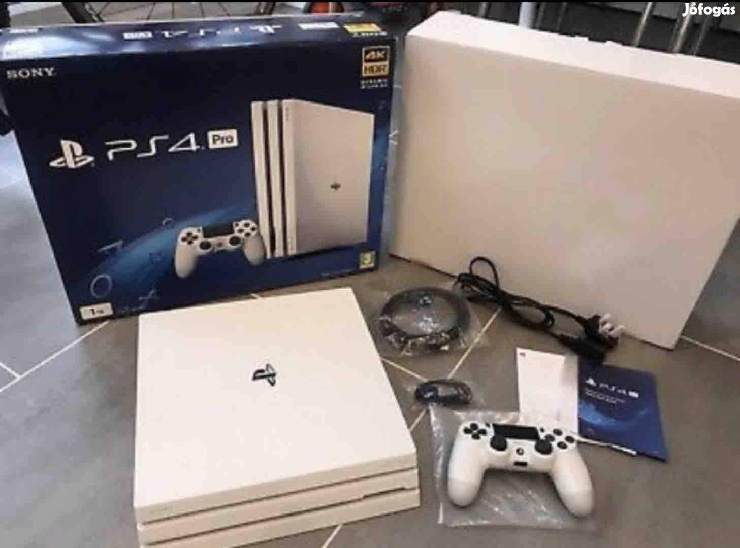 Playstation 4 Pro / Ps4 Pro Glacier White Cuh-7216B