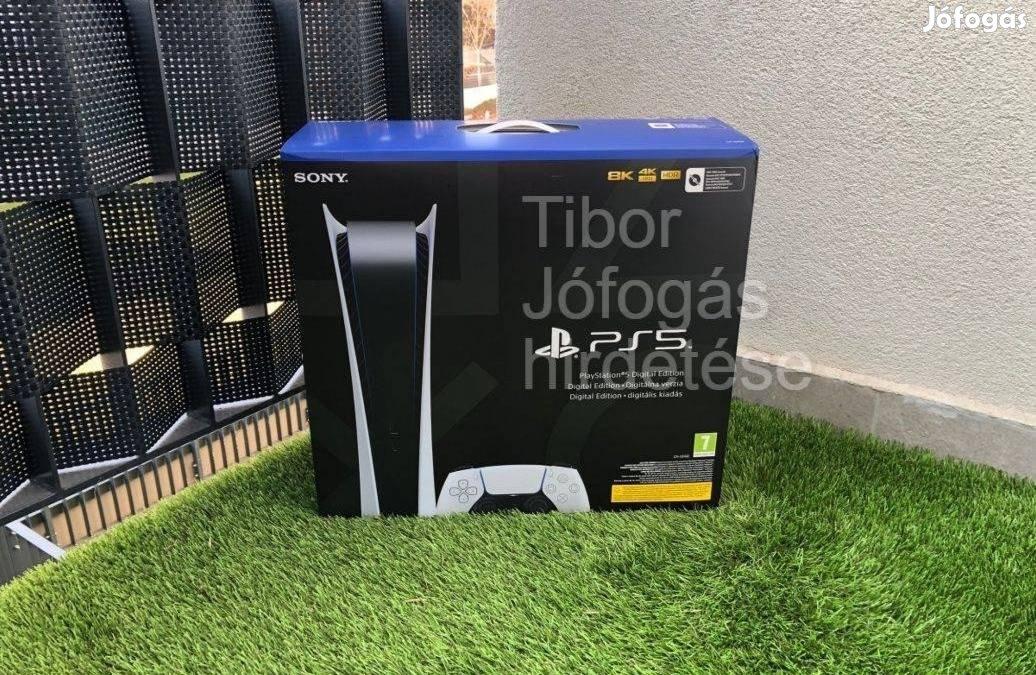 Playstation 5 Digital I Bontatlan, hétvégén is azonnal átvehető PS5