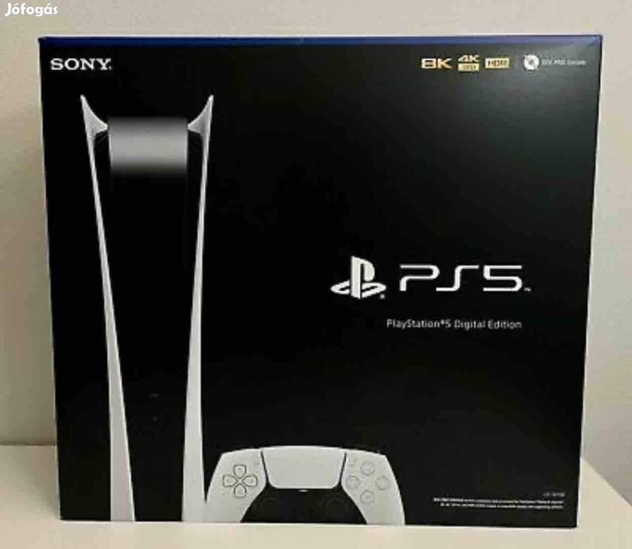 Playstation 5 / Ps5 Digital edition Új, Bontatlan! 2 év Garancia!