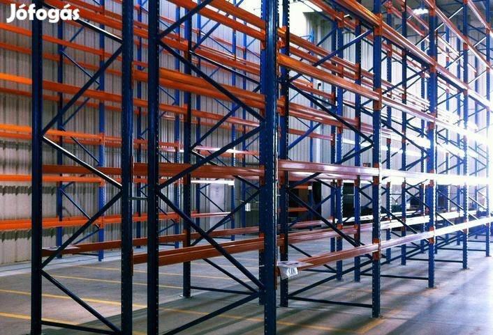 Raklapos állvány raktár raklaptároló ipari polcrendszer neház állvány