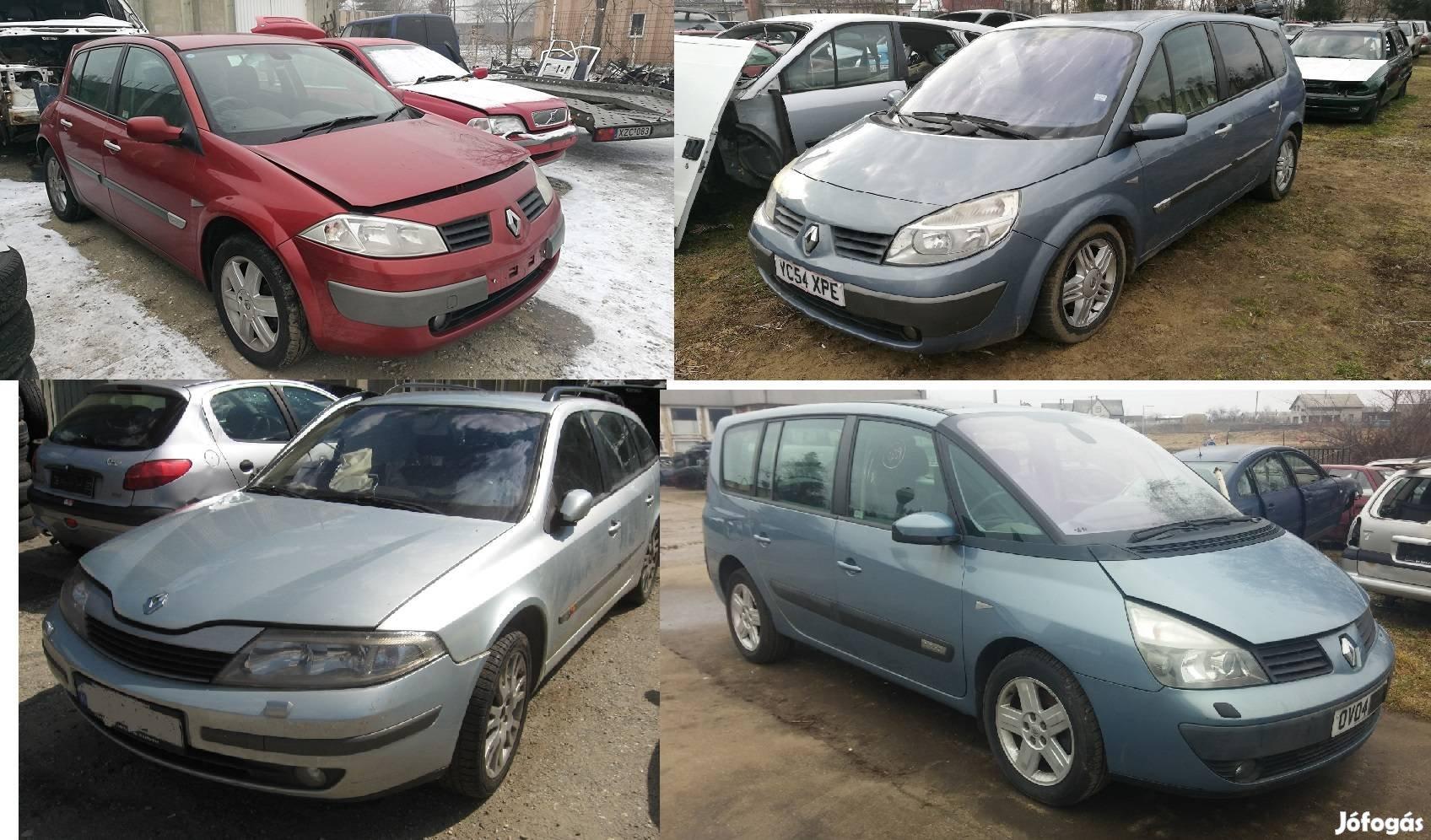 Renault Alkatrészek 1.5dci 1.9dci 2.2dci
