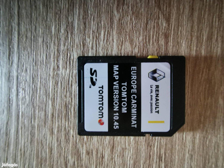 Renault Carminat Navigáció SD kártya 2021