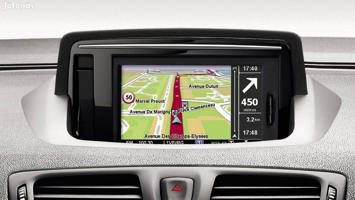 Renault Navigáció sd kártya 2021