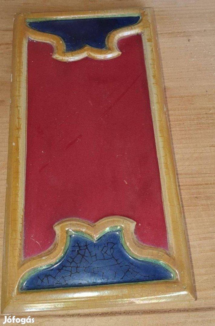 Ritka, antik Zsolnay eozin mázas csempe, nagy mennyiség!