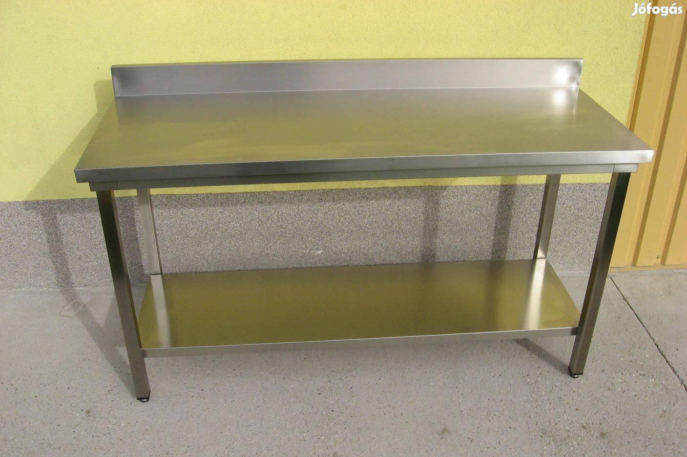 Rozsdamentes munkaasztal feldolgozó előkészítő asztal eladó