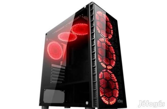 SSD Gamer Pc számítógép Intel I5 8x3.8 RX 570 /16GB RAM/120GB /500GB