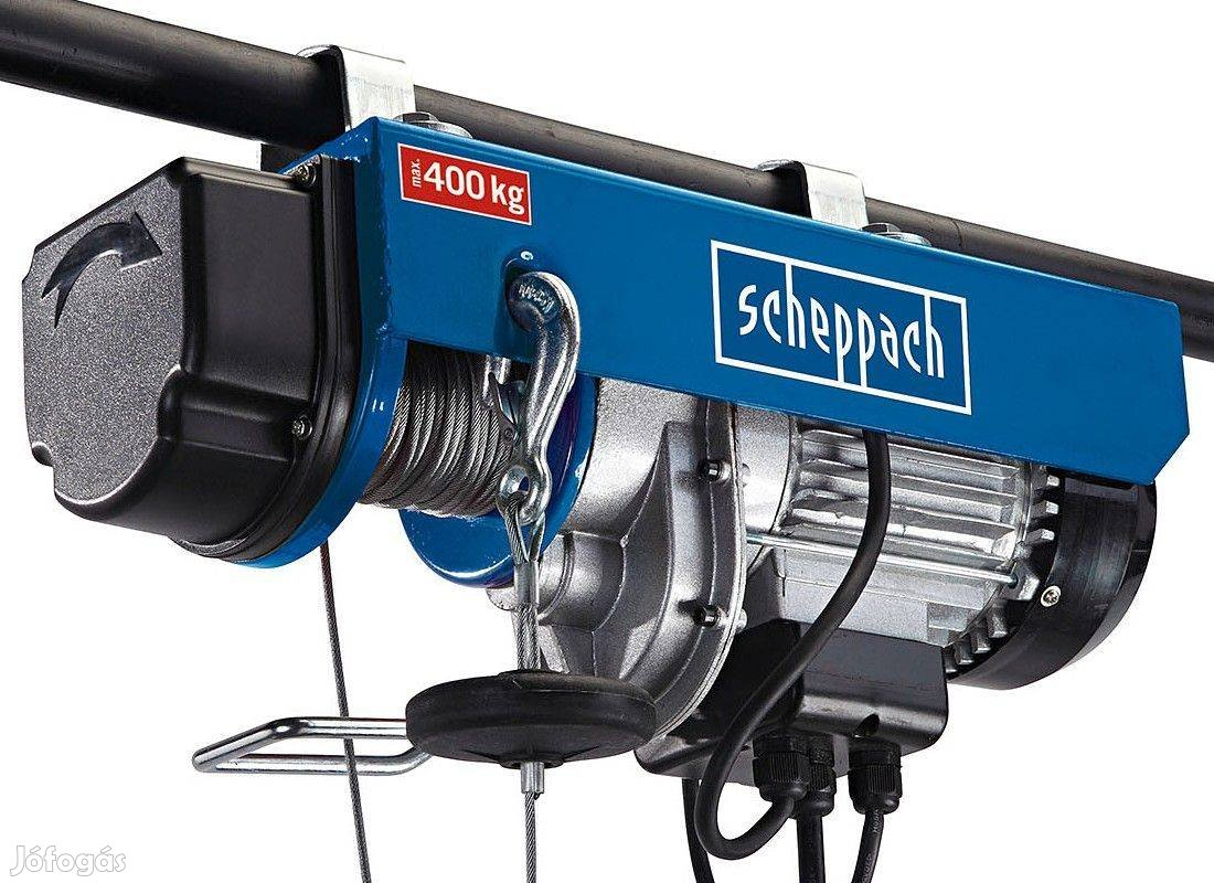 Scheppach HRS 400 csörlő-emelő Garanciával!!