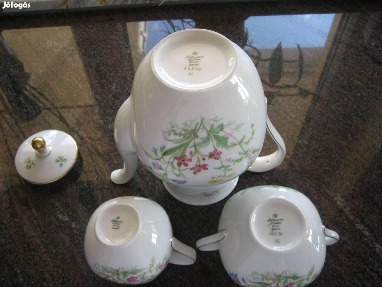 Seltmann Bavaria Weiden jelzett porcelán eredeti teás kávés készlet!!