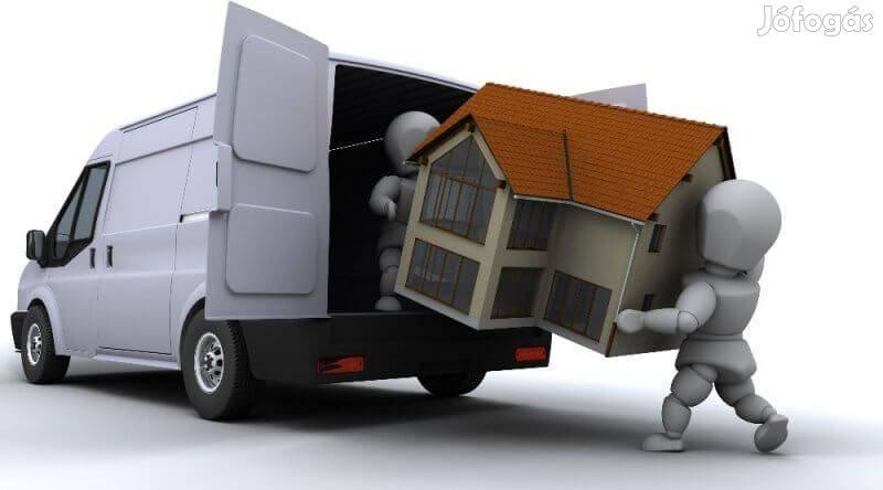 Sérülésmentes olcsó költöztetés bútorszállítás lomtalanítás Budapesten