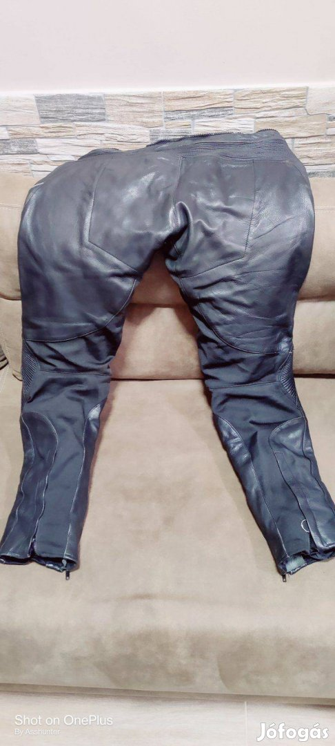 Shox Factory motoros bőrnadrág L-es méretben