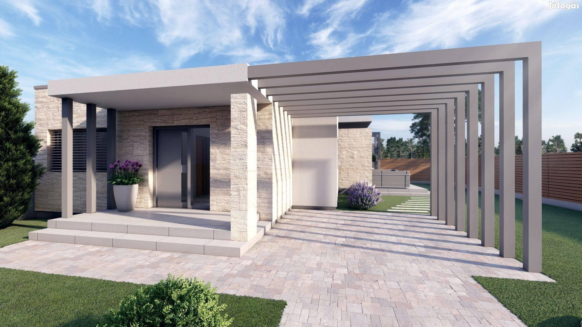 Siófok Léda utcában 2 db újépítésű vízpartközeli lakóház eladó!