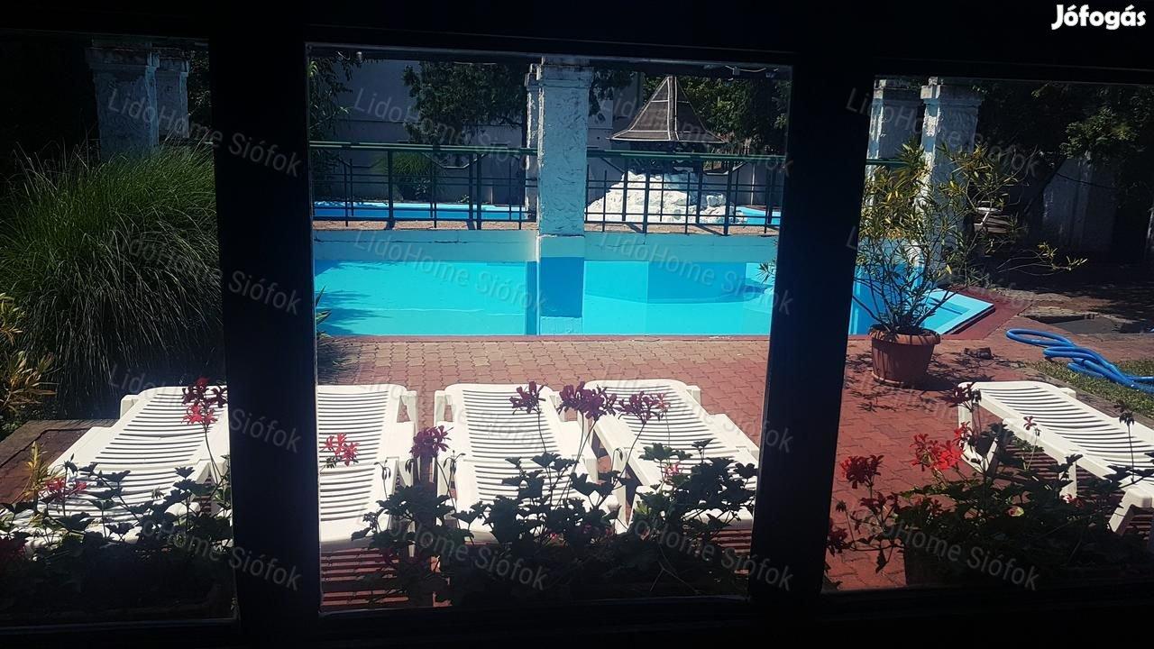 Siófok központjában bejáratott szálloda eladó!