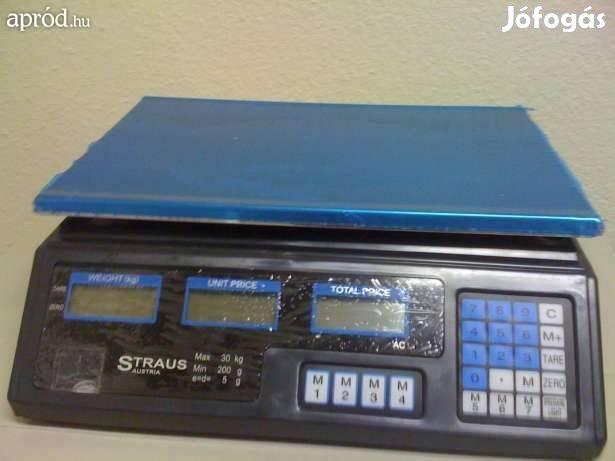Sokfunkciós Digitális mérleg mázsa Új 30kg 40kg 100kg 300-kg