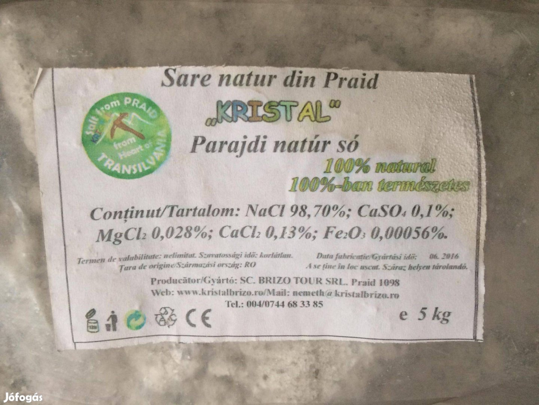 Sópárna saját termesztésű levendulával és parajdi natúr sóval töltve