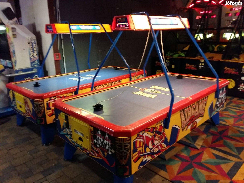 Sport és játék 1ben:) léghoki asztal asztalok a Gozsdu Játékteremben
