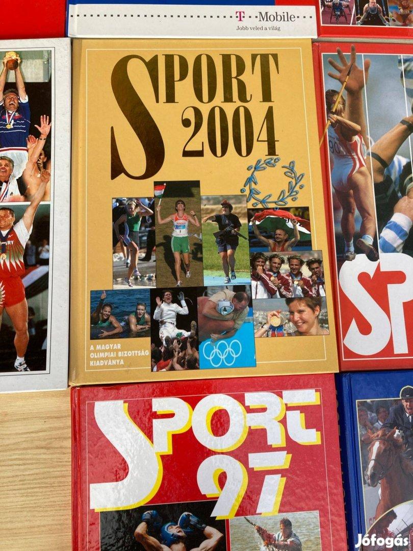 Sport évkönyv csomag