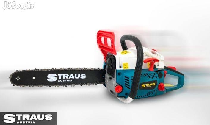 Straus benzines láncfűrész 4.2Le benzinmotoros fűrész fürész Új
