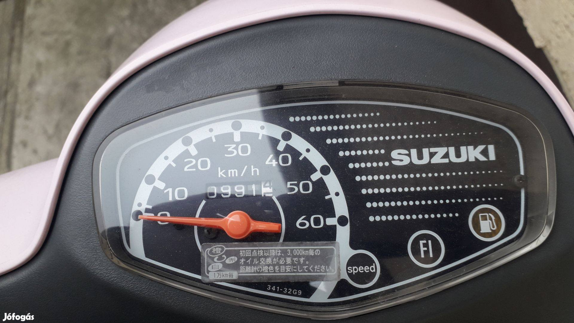 Suzuki Lets Pallet 4 ,,ujlámpás,,
