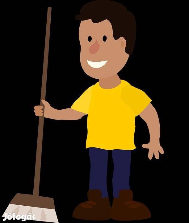 Sz.fehérvár férfi takarító munkatársat keresünk kiemelt fizetéssel